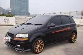 Chevrolet Aveo LT Tahun 2004 / 2005 Matik Hitam