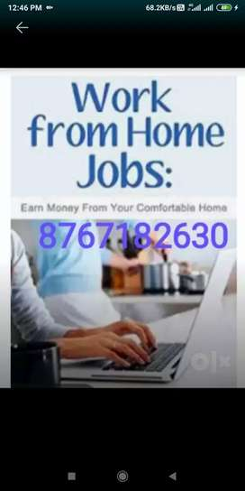 We arr offering home based job