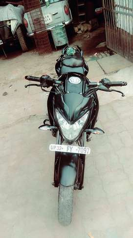Pulsar 200ns 17dec2014model sport bike service record well mentained