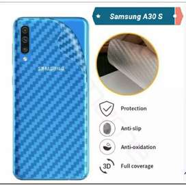 Garskin HP Karbon Backdoor Anti Jamur Samsung A30 S