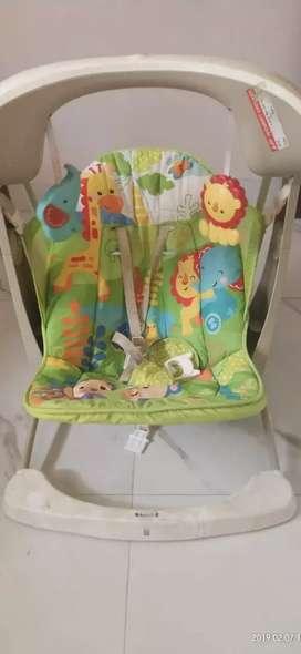 Baby feeder cumming swing
