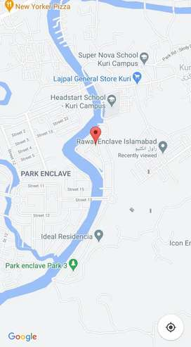 Possession plot in Rawal Enclave near CDA Park enclave