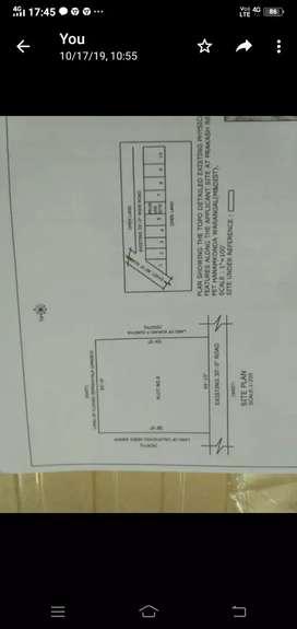 LRS paid plot with 321 sq yards for sale in PrakashReddyPet,Hanamkonda