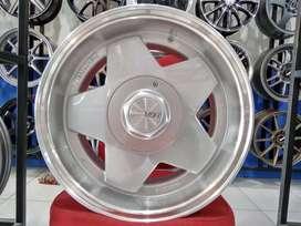 Velg Mobil Type AACHEN Ring 15 Untuk Brio, Agya, Avanza HSR Wheel SMF
