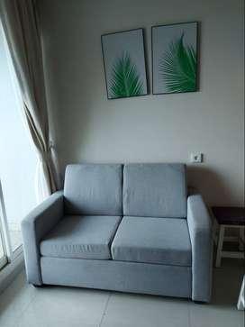 Disewakan Apartemen Calia 1BR Full Furnished Lantai 8 di Pulomas