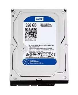 WD HardDisk 320gb