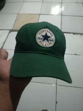 Topi converse original hijau