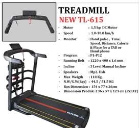 TL-615 TREADMILL LISTRIK special promo plus alat pijat