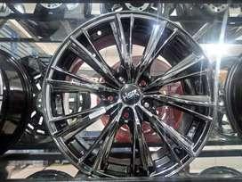 Velg Mobil Racing Ring 17 HSR Blackchrome | Ertiga Innova Xpander