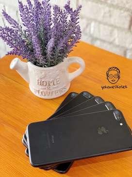 Iphone 7plus 32Gb blackmatte mulus fullset ex inter no rekondisu