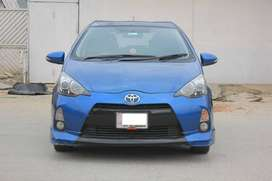 TOYOTA AQUA 2013 on easy intallment