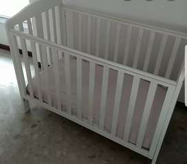Wooden baby bed from mothers care
