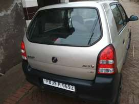 Good condition alto car to be sale single hand driven