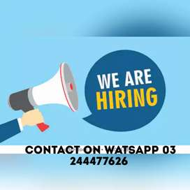 Online job for students and freshers