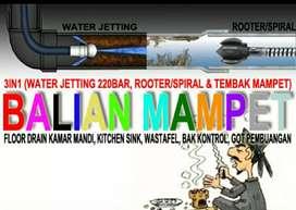 Balian Mampet Layanan Rooter & Hydro Jetting Sampet Buntu