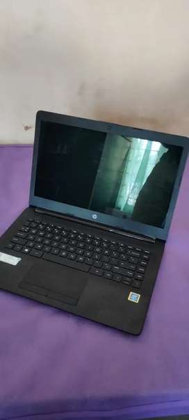 Hp new laptop 11 months single use