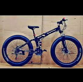 Brand new fat tyre follding cycle