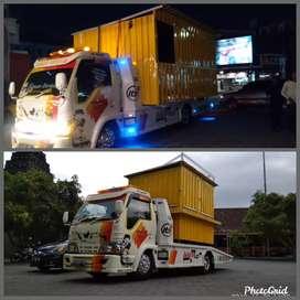 Booth, kontainer & gerobak murah