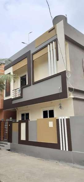 INDEPENDENT HOUSE FOR SALE IN AMARAVATI PLOTS  CHENCHUPETA TENALI