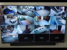 CAMERA CCTV FULLSET SIAP PASANG DAN SIAP PANTAU VIA ANDROID