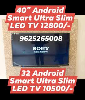 40 inch smart led tv 12800 only and 32 inch smart led tv 10500