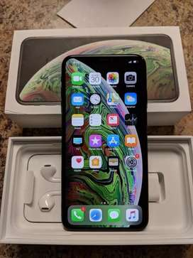 iPhone Xs Max 256gb Black With 3 Months Warranty Bill Box all access
