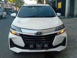 Toyota Avanza E 1,3 Manual 2019 PMK 2020 Putih Plat AE Siap Pakai !!!