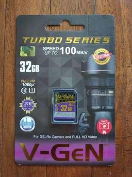 Memory Kamera SDHC V-GeN 32gb