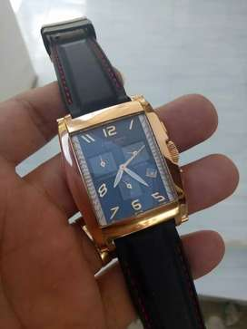 Jam Tangan Pria Christ Verra Chronograph Limited Gold Original
