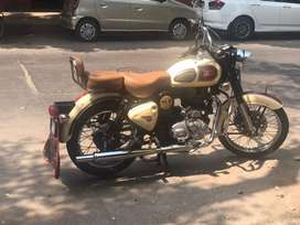 VIP Number 500cc Bullet- 5500Km Drivn with Gold Star Silencr