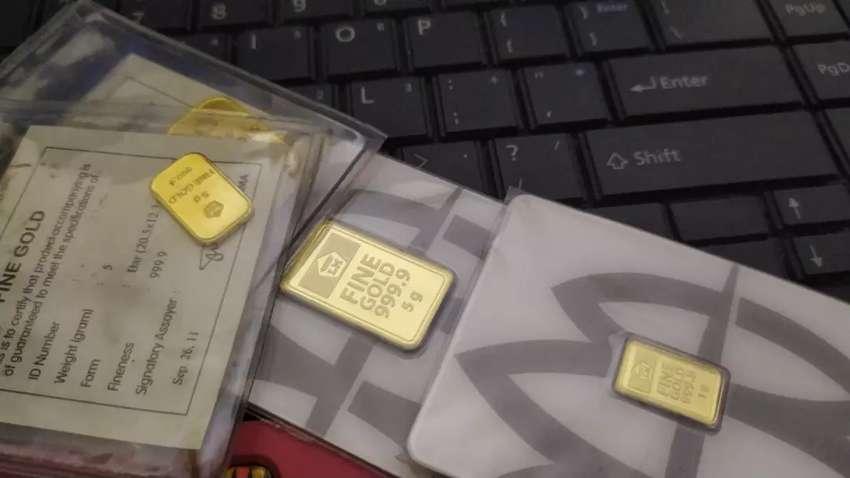 Terima emas ANTAM harga di atas buyback