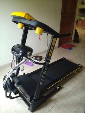 Alat fitness treadmill elektrik 4 in 1 idachi 37 Massager