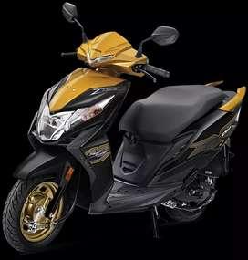 Honda Dio Dlx Initial Payment 4999.
