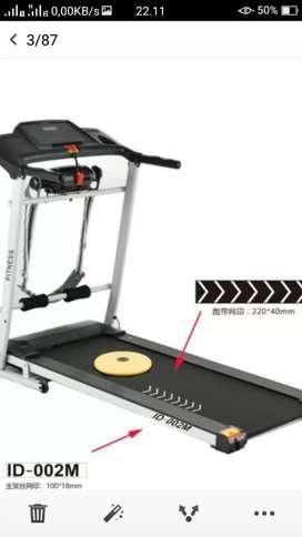 Jual baru treadmill elektrik id 002M