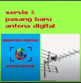 Pasang antena uhf vhf murah meriah berkualitas