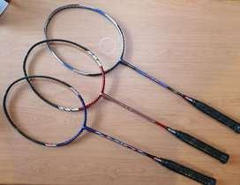 Jual Raket bulutangkis/badminton gamma type TNT gress ori USA
