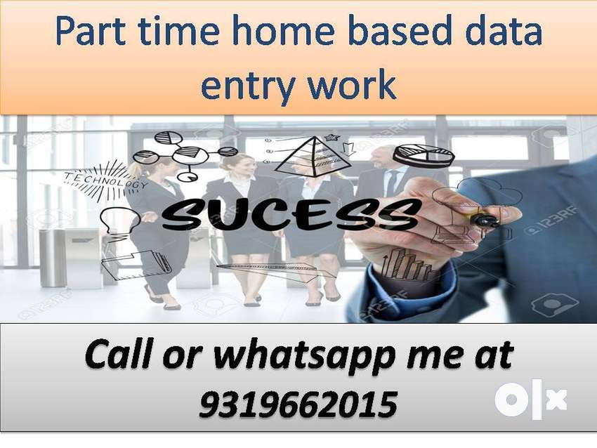 Data entry job work at home based job typing work part time job 0