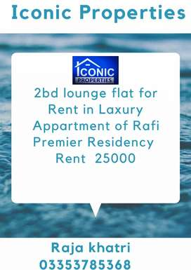 Flat for Rent in Rafi Premuim Residancy