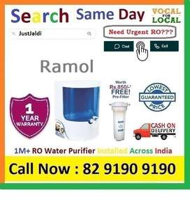 Ramol Dolphin RO water Filter Water Purifier  Drink CLean Water.  Clic