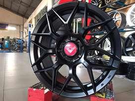 3940 VORSTEINER R16X7 H8x100-114.3 ET40 Black