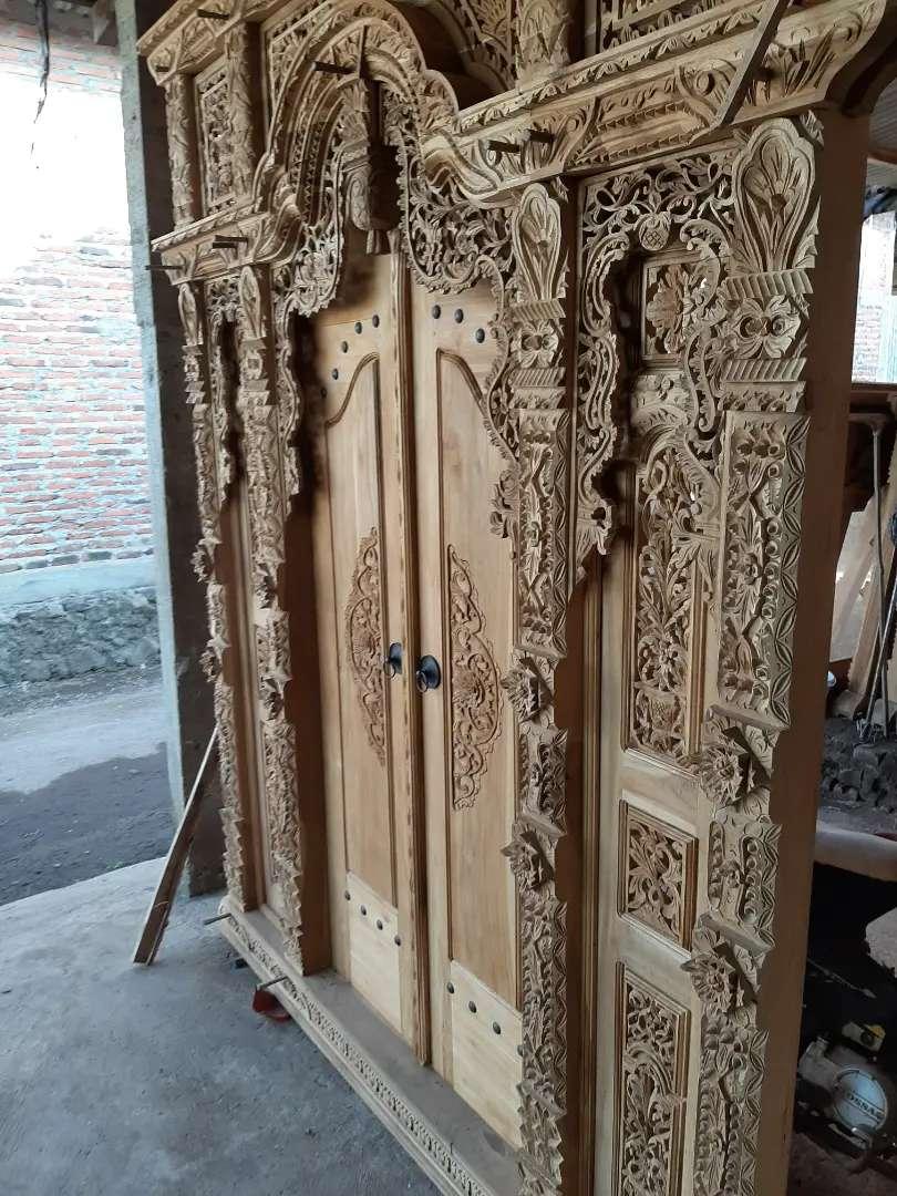 soleh cuci gudang pintu gebyok gapuro jendela rumah masjid musholla