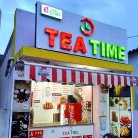 Tea time Franchise for Sale.