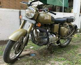 Well-maintained Classic Royal Enfield, average 25+ Kmpl