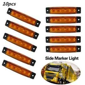Bakuis Lampu Rambu Truck Mobil LED Marker Indicator Light 12V 10PCS