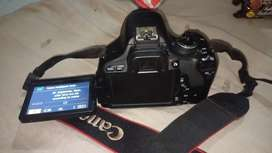 Camera canon 600d rent 2 hours 500rupe