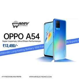 Oppo A54 64 GB, 4 GB RAM, Crystal Black, SmartPhone