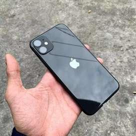 Iphone 11 64gb  second like new termurah