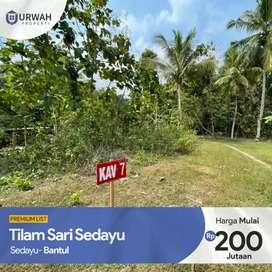 Sedayu Bantul Yogyakarta Tanah Kavling 100 Jutaan Rumah 200 Jutaan 1D