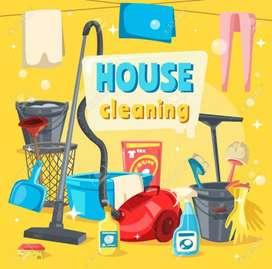 Gents Cleaner Housekeeping chahye property clean kerne