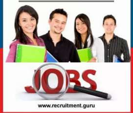 #Urgent requiredment for male and female job #